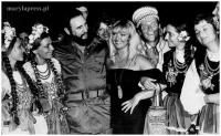z Fidelem Castro